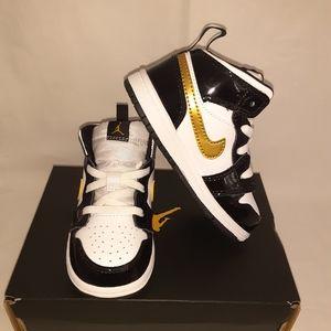 New Jordan 1 MID SE (TD)